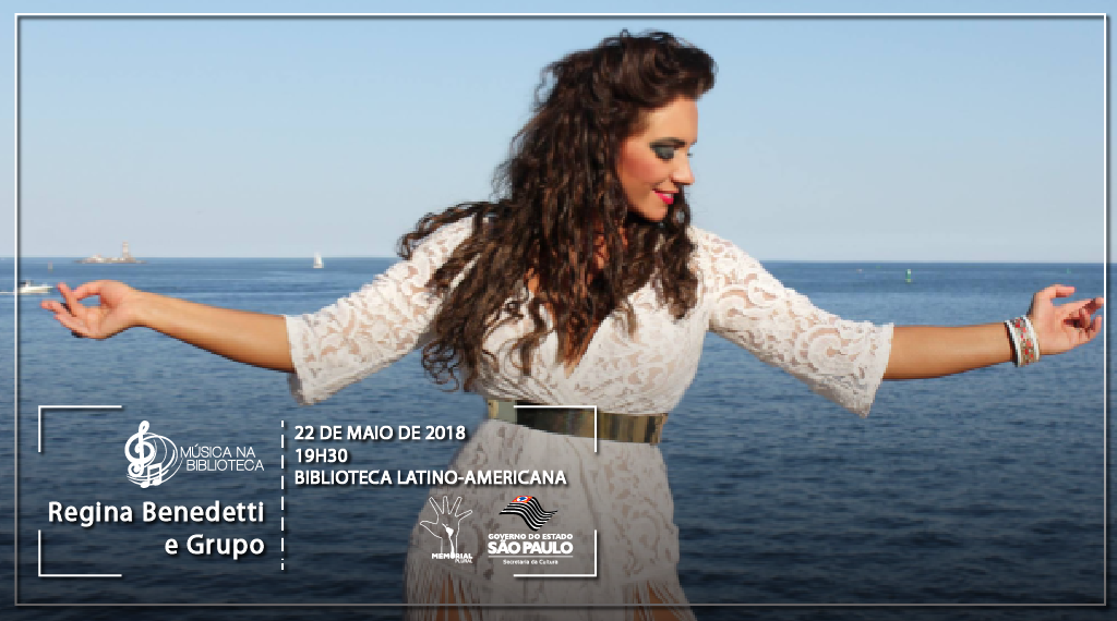 Cantora indicada ao Grammy Latino é a próxima atração do Música na Biblioteca