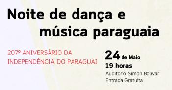 Paraguai celebra independência com shows gratuitos de música e dança