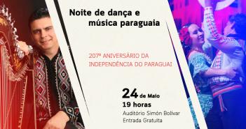Independência do Paraguai é celebrada com apresentações gratuitas de dança e música