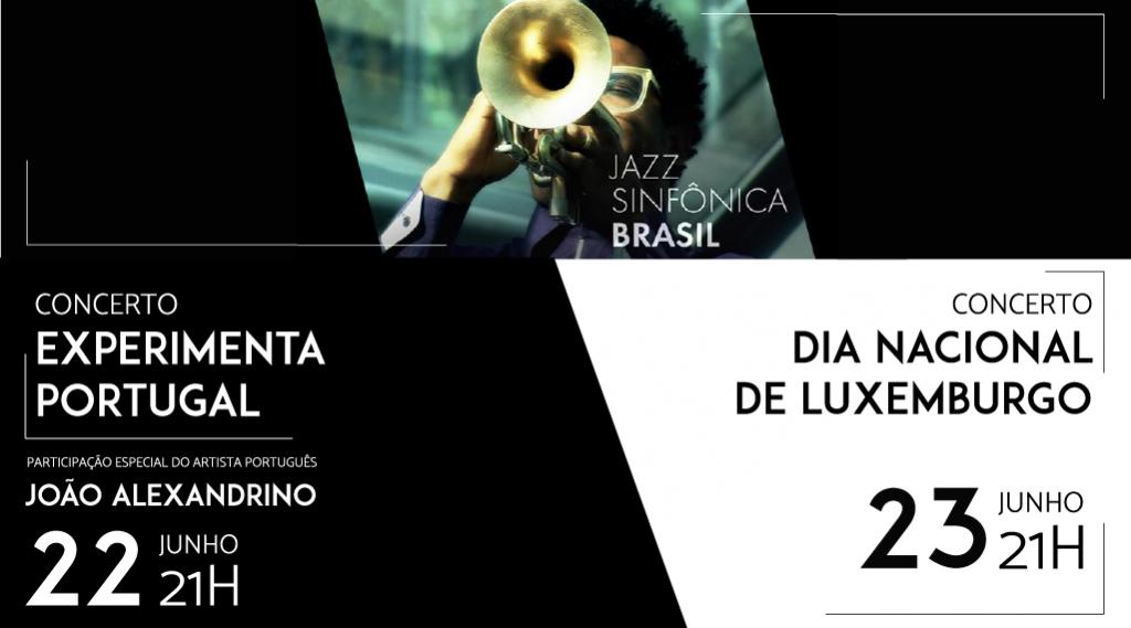 Jazz Sinfônica faz apresentações nos dias 22 e 23 de junho