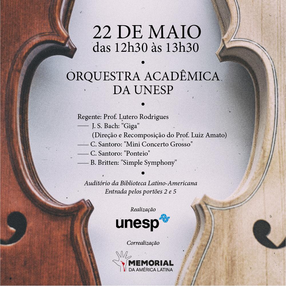 Memorial da América Latina é a nova casa da Orquestra Acadêmica da Unesp