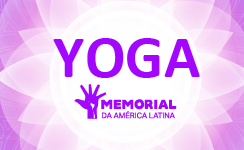 Memorial da América Latina oferece aula de Yoga e palestra com Wagner Borges